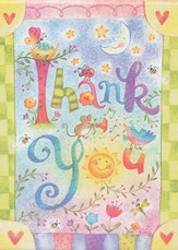 Whimsical Thank You Notes, Box of 15