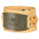 Faith Leather Bracelet