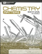 Chemistry Matters Workbook Grades 9-10 2nd Edition