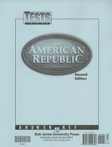 Heritage Studies 8: The American Republic, Tests Answer Key