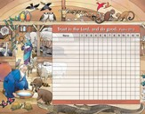 Trust in the Lord Attendance Chart