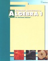 BJU Math 9: Algebra 1 Student Activities
