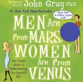 Men Are From Mars, Women Are From Venus, Audio CD Abridged, 90 Minute, 2 Disc