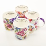 Seeds Of Love Mugs, Set of 4