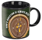 God's Direction Is Always Best Mug