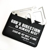 God's Direction Is Always Best Multi Tool