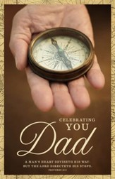 A Father's Heart (Proverbs 16:9) Father's Day Bulletins, 100