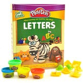 Let's Create Play-Doh Letters