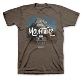 Faith Can Move Mountains Shirt, Large