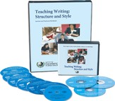 Teaching Writing: Structure and Style--10 DVD's and Workbook