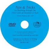 Tips & Tricks for Teaching the Nine Units of Structure and Style--DVD