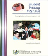 Student Writing Intensive, Level A, Notebook Only
