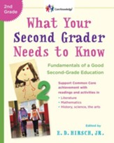 What Your Second Grader Needs to Know: Fundamentals of a Good Second Grade Education Revised - eBook
