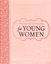 One Minute Devotions for Young Women, Luxleather