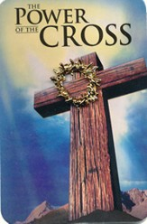Power of the Cross Lapel Pin and Card