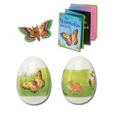 Resurrection Gospel Egg with Butterfly Puzzle, Eraser & Booklet