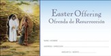 He shall Rise Again (Matthew 20:19) Bilingual Offering Envelopes, 100