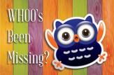 WHOO's Been Missing Postcards (2 Corinthians 13:11, NIV) 25