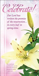 Celebrate! (Psalm 18:46) Bookmarks, 25