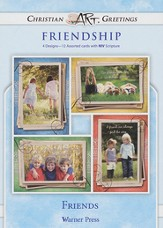 Friends, Box of 12 Assorted Friendship Cards