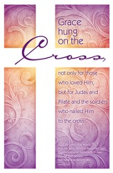 Grace Hung on the Cross (John 3:16) Bulletins, 100