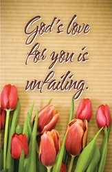 God's Love for You Postcards (Psalm 13:5, NIV) 25