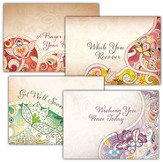 Healing Words, Box of 12 Assorted Get Well Cards