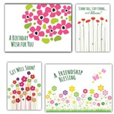 Bouquet of Blessings, Box of 12 Assorted All Occasion Cards