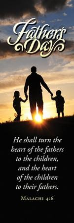Father's Day Bookmarks (Malachi 4:6) 25