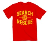 On Patrol Shirt, Red, 3X Large