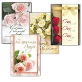 Love Everlasting, Box of 12 Assorted All Anniversary Cards