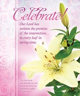 Celebrate! (Psalm 18:46) Large Bulletins, 100