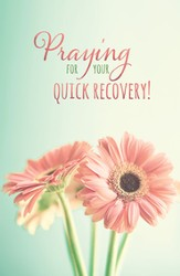 Praying for Your Quick Recovery Postcards (James 5:16) 25