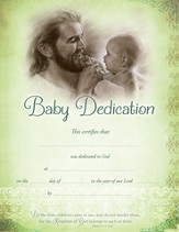 Baby Dedication Certificates (Mark 10:14, NIV) 6