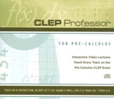 CLEP Professor for Pre-Calculus on CD-Rom