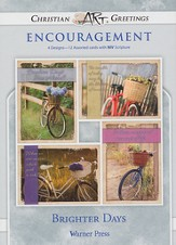 Brighter Days, Box of 12 Assorted Encouragement Cards