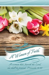 Women of Faith (Proverbs 31:30) Bulletins, 100