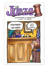 The Judge, Spanish, Pack of 25 Tracts