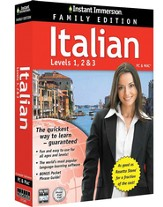 Instant Immersion Italian, Family Edition 1-2-3
