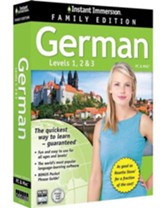 Instant Immersion German, Family Edition 1-2-3