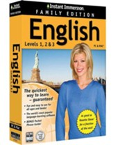 Instant Immersion English, Family Edition 1-2-3