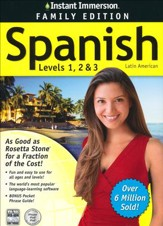 Instant Immersion Spanish, Family Edition 1-2-3