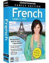 Instant Immersion French, Family Edition 1-2-3