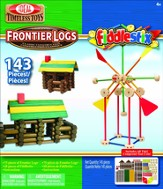 Frontier Logs & Fiddlestix 143 Pc Set