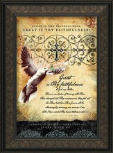 Great Is Thy Faithfulness Framed Art