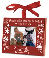 Family Photo Frame Ornament
