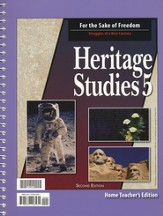 Heritage Studies 5, Home Teacher's Edition