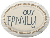 Our Family MiniPlate with Easel