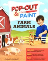 Pop-Out Paint: Farm Animals