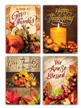 Thanksgiving Blessings, Box of 12 Assorted Thanksgiving Cards